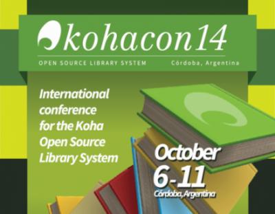 KohaCon14, October 6-11